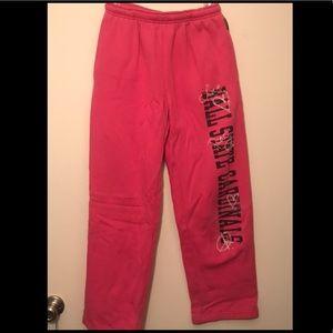 Pink Ball State sweatpants